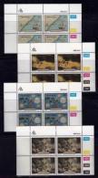 TRANSKEI, 1988, Mint Never Hinged Stamps In Control Blocks, MI 222-225,  Grosvenor Shipwreck,  X246 - Transkei