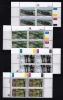 TRANSKEI, 1989, Mint Never Hinged Stamps In Control Blocks, MI  230-233,  Trains,  X248 - Transkei