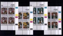 TRANSKEI, 1990, Mint Never Hinged Stamps In Control Blocks, MI  254-257,  Diviners,  X254 - Transkei