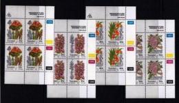 TRANSKEI, 1990, Mint Never Hinged Stamps In Control Blocks, MI  259-262,  Indigenous Flora,  X255 - Transkei