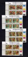 TRANSKEI, 1991, Mint Never Hinged Stamps In Control Blocks, MI  275-278,  Heroes Of Medicines,  X259 - Transkei