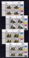 TRANSKEI, 1993, Mint Never Hinged Stamps In Control Blocks, MI  311-314,  Doves,  X267 - Transkei