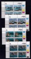 TRANSKEI, 1994, Mint Never Hinged Stamps In Control Blocks, MI  315-318,  Shipwrecks,  X268 - Transkei