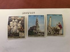 Vatican City Fatima Mnh 1967 - Unused Stamps