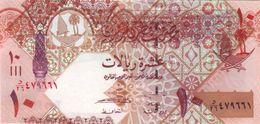 QATAR 10 RIYALS ND (2008) P-30a UNC  [QA217a] - Qatar