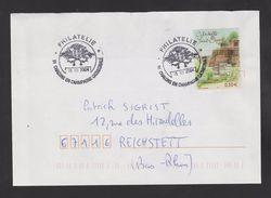 """FRANCE / 2003 / Y&T N° 3625 : """"Luxembourg"""" (Citadelle Saint-Esprit) - Sur Pli Du 15/03/2004 - Marcophilie (Lettres)"""