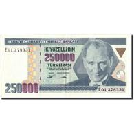Turquie, 250,000 Lira, 1998, 1998, KM:211, SUP - Turquie
