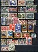 A12 - Belgium - 1958 - Complete Year Commemoratives - **/* - Belgien