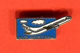PINS  - Air AUSTRAL - ILE DE LA REUNION - Transport Und Verkehr