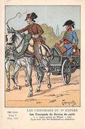 4 CPA Les Uniformes Du Premier Empire - Série N° 136 - 3 Cartes Postales - Uniforms