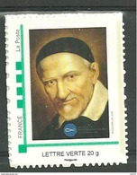 Timbre Adhésif Saint Vincent De Paul - Personalized Stamps (MonTimbraMoi)