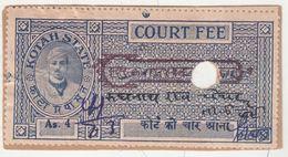 KOTAH  State  4A  Court Fee Type 30...ERRATIC VALUE TABLETS...   # 99881  India  Inde  Indien Revenue Fiscaux - Indien