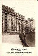 Bruxelles (1040) : Vue De La Rue Intérieure Du Résidence-Palace, En Cours D'achèvement Rue De La Loi (1926). CPA. - Etterbeek