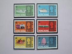 1968 Hong Kong Yvert 230/5 * Légères Traces Scott 239/44 Michel 232.7 SG 247/52 - Hong Kong (...-1997)