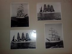 L´AVENIR AU RETOUR DE SONS DERNEURE VOYAG     +- 36 * 27 CM   REAL PHOTOGRAPH BOAT BOOT BOAT Voilier - Velero - Sailboat - Barcos