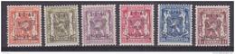 Belgie 1946 Preo 30 (1-I-46 / 31-XII-46) 6w ** Mnh (32722) - Typos 1936-51 (Petit Sceau)