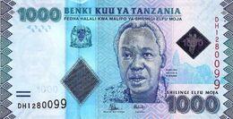 TANZANIA 1000 SHILLINGS ND (2015) P-41b UNC [TZ140b] - Tanzanie