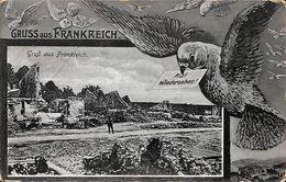 Gruss Aus Frankreich (auf Wierdersehen, Pigeon, Feldpost 1917) - Souvenir De...