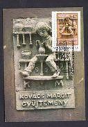 HUNGARY 2000 MAXIMUM CARD POTTER CERAMIC WORKS - Fábricas Y Industrias