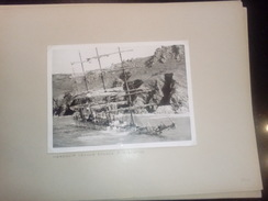 SHIPWRECK  HERZOGIN CECILIE  A SALCOMBE  +- 36 * 27 CM   REAL PHOTOGRAPH BOAT BOOT BOAT Voilier - Velero - Sailboat - Bateaux