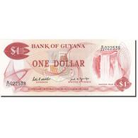 Guyana, 1 Dollar, 1966, 1989, KM:21f, SPL - Guyana