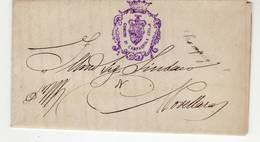 10752 COMUNE  CAMPAGNOLA EMILIA X NOVELLARA 1886 - 1861-78 Victor Emmanuel II