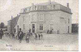 BERTRIX Hôtel Lefevre - Troupeau De Chévres Et Bergers (TOP) Voyagé 1908 - Bertrix
