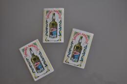 REF LOT EX  : Lot De 3 Carnets Papier à Cigarette Ancien Buvez Une Salers Garenne Colombes à Rouler - Cigarettes - Accessoires