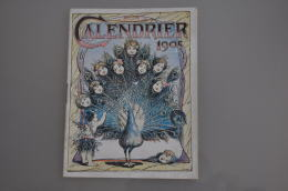 REF LOT EX  : Livret Calendrier 33 Pages Tisane Des Shakers - Thème De La Santé 1905 - Calendriers
