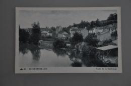 REF 301  : CPA 86 MONTMORILLON Bords De La Gartempe - Montmorillon