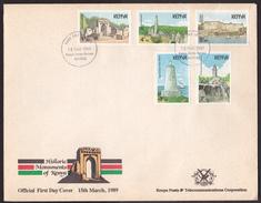 Kc_ Kenia - Mi.Nr. 471 - 475 - Ersttagsbrief FDC - Kenya (1963-...)