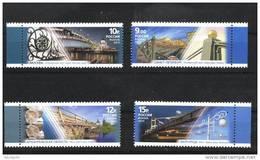Russia 2011 Bridges Set Of 4 MNH - Unused Stamps