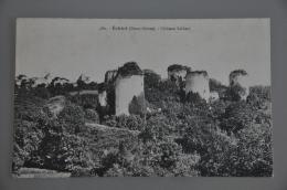 REF 301  : CPA 79 ECHIRE Chateau Salbart - France