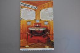 REF 303  : CPSM U.S.A. Suicide Table Delta Saloon VIRGINIA City Nevada - Etats-Unis
