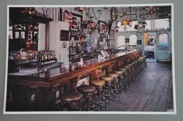 REF 304  : CPSM U.S.A. Virginia City Nevada Blood Saloon Interior - Etats-Unis
