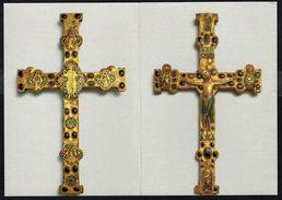 2 CP : Recto Et Verso D'un Crucifix Romain - Non Circulé - Not Circulated - Nicht Gelaufen. - Fine Arts
