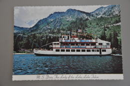 REF 304  : CPSM U.S.A. Nevada M.S. DIXIE Lake Tahoe's - Etats-Unis
