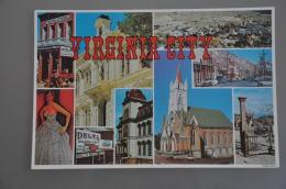 REF 304  : CPSM U.S.A. Virginia CITY - Etats-Unis