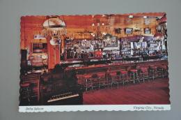 REF 304  : CPSM U.S.A. Virginia City Delta Saloon - Etats-Unis