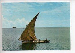 REF 272  : CPSM MAYOTTE Vue Sur Le Lagon 1978 - Mayotte