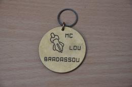 REF M1  : Médaille Souvenir  Moto Rassemblement Moto Club Lou Bradassou - Motos