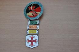REF M1  : Médaille Souvenir  Moto Rassemblement Moto Club Saint Paul D'Espis 82 J'y étais 77 78 79 80 - Motos