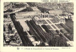 Bruxelles (1040) : Vue Aérienne De L'Arcade Du Cinquantenaire Et De L'Avenue De Tervueren. Cliché SABENA. CPA. - Etterbeek