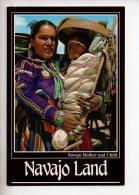 REF 290  : CPM Navajo Land Mother And Child Indian Indien - Etats-Unis