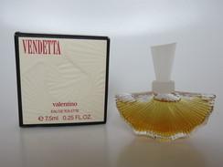 Vendetta - Valentino - Eau De Toilette - 7.5 ML - Miniatures Modernes (à Partir De 1961)