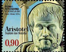 BOSNIA CROAT, 2016, MNH,WORLD PHILOSOPHY DAY, ARISTOTLE,  ANCIENT GREEK PHILOSOPHERS, 1v - Autres