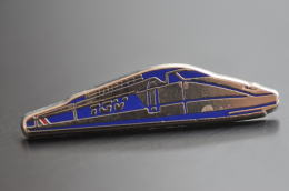 REF M1  : Pin's Pin  : Theme Train Chemin De Fer  : TGV Argent - TGV