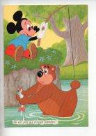 REF 279  : CPSM DISNEY Mickey 1973 - Disney