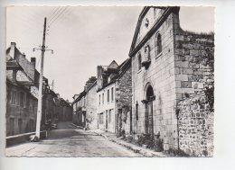 REF 287  : CPSM 23 FELLETIN : Rue Grancher - Felletin