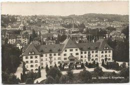Z3797 Sankt St. Gallen - C. Burgerheim / Viaggiata 1951 - SG St. Gall
